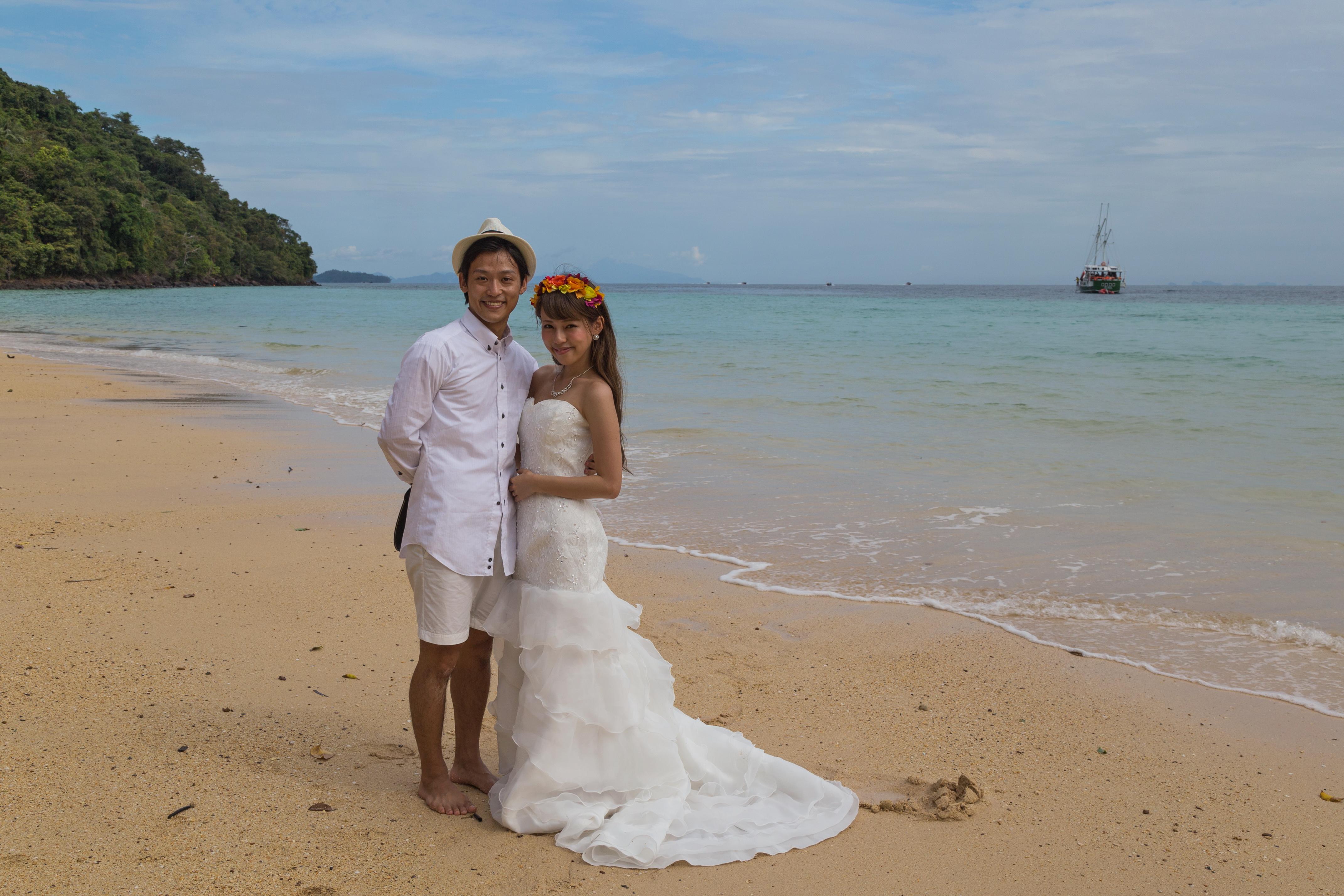 File2016 Prowincja Krabi Ko Phi Phi Don Plaża Loh Moo Dee Tajska
