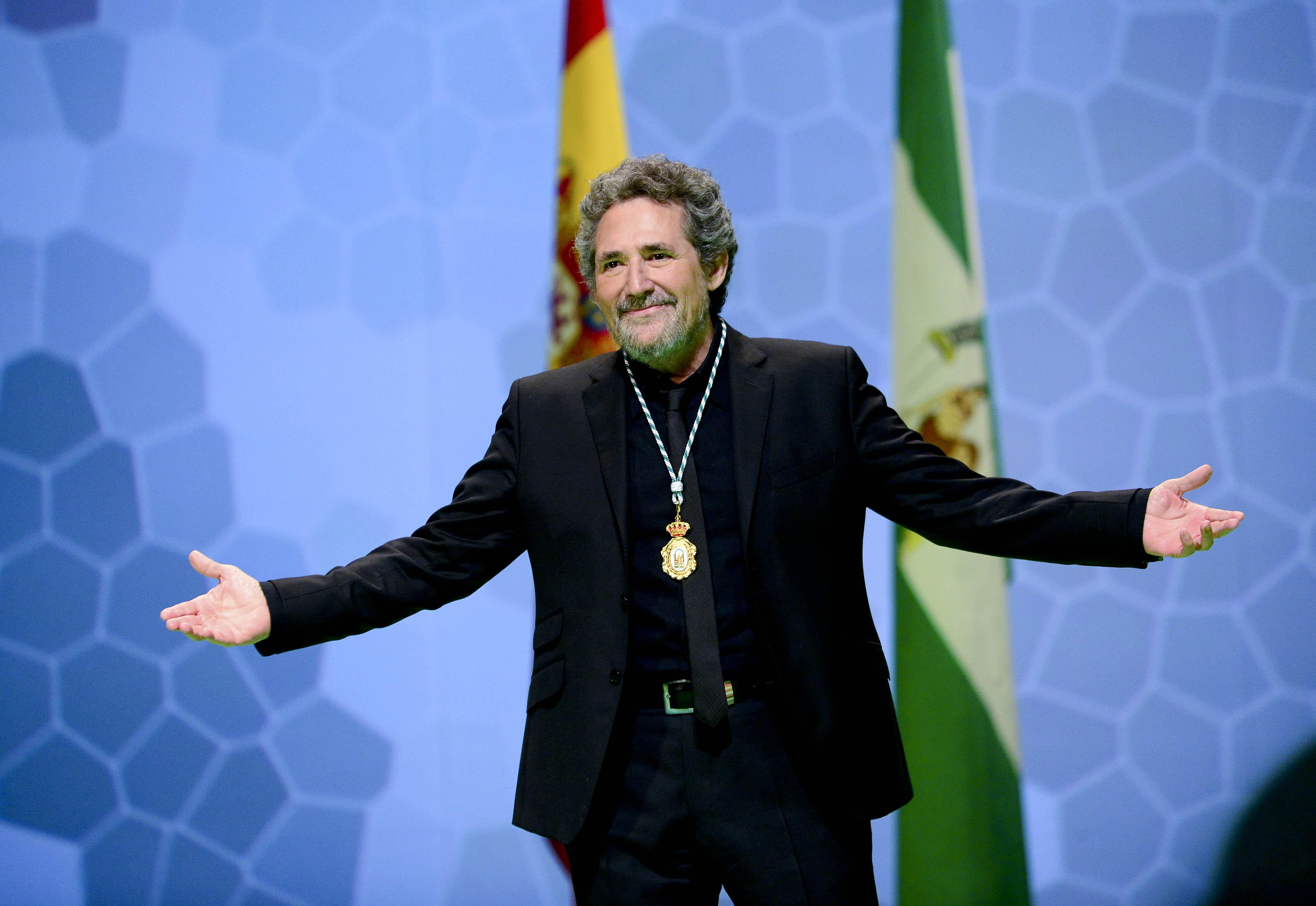 Miguel Ríos nombrado Hijo Predilecto de Andalucía en 2014.