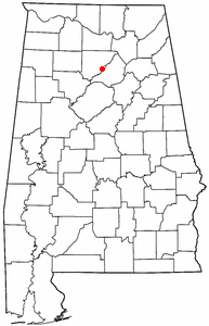Loko di Garden City, Alabama