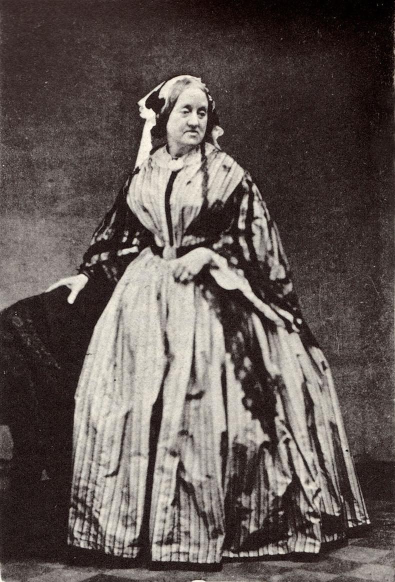 Portrait of Anna Atkins, 1861