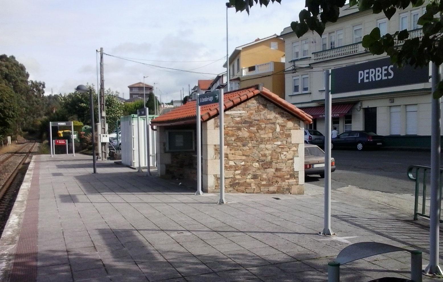 Estación de Perbes