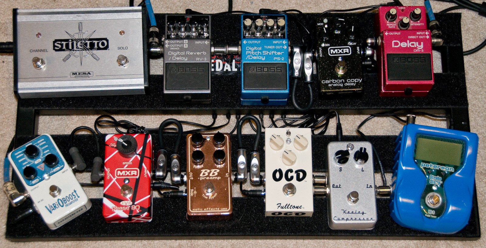 file art bromage 39 s pedalboard 2008 10 23 complete for the moment jpg wikimedia commons. Black Bedroom Furniture Sets. Home Design Ideas