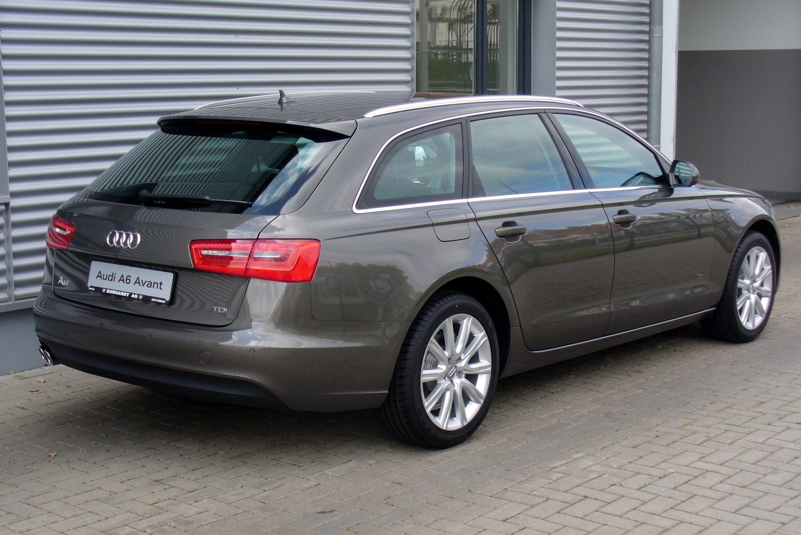 File Audi A6 Avant 2 0 Tdi Dakotagrau Seite Jpg Wikimedia Commons
