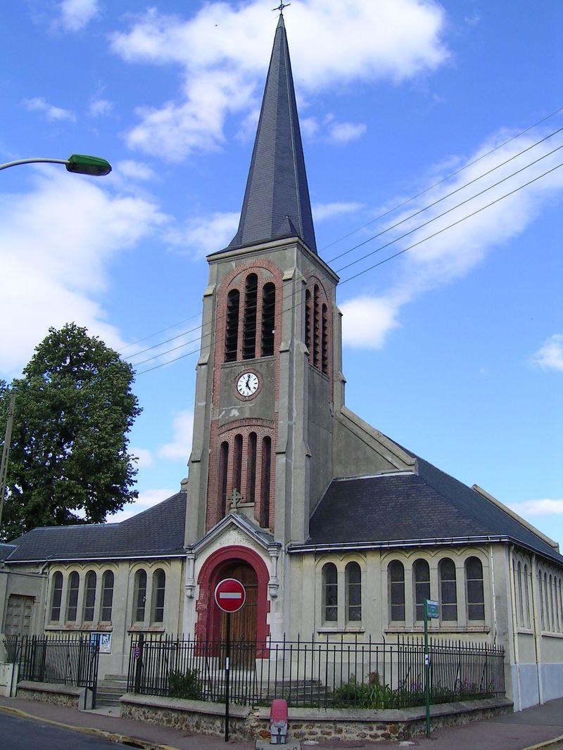 FileAulnaysousBois  Eglise SaintJosephjpg