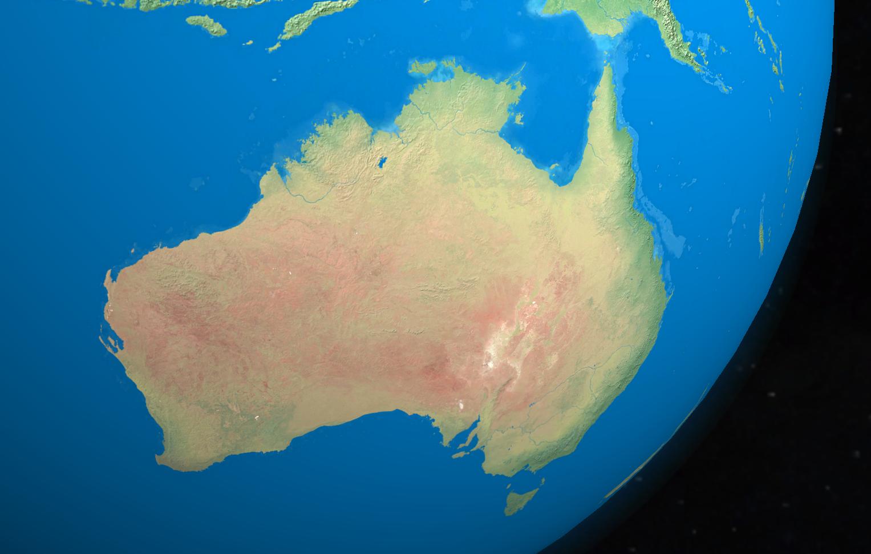 Фото материка австралия