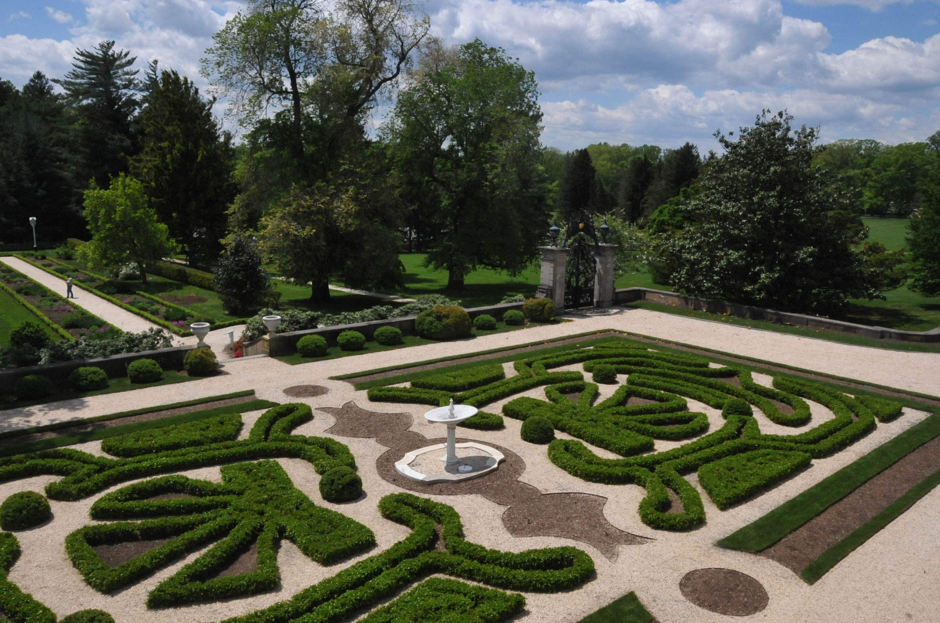 File Boxwood Gardens At Nemours Mansion New Castle County