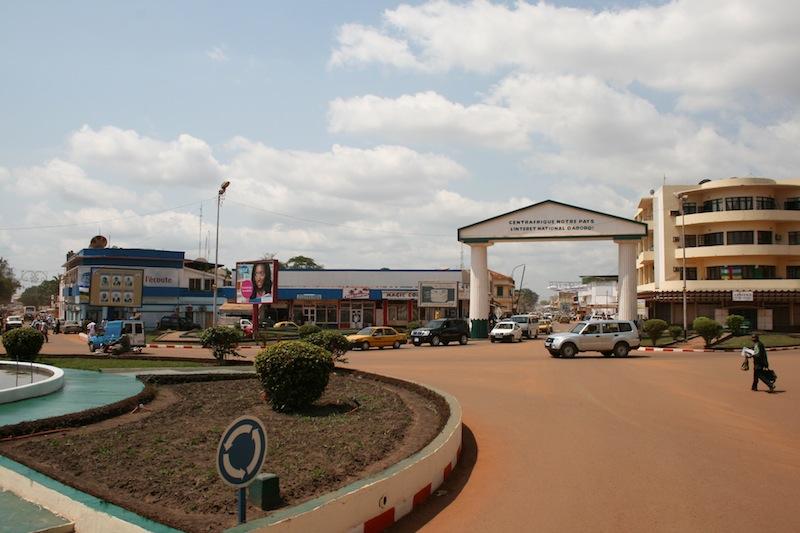 Bangui Shopping District