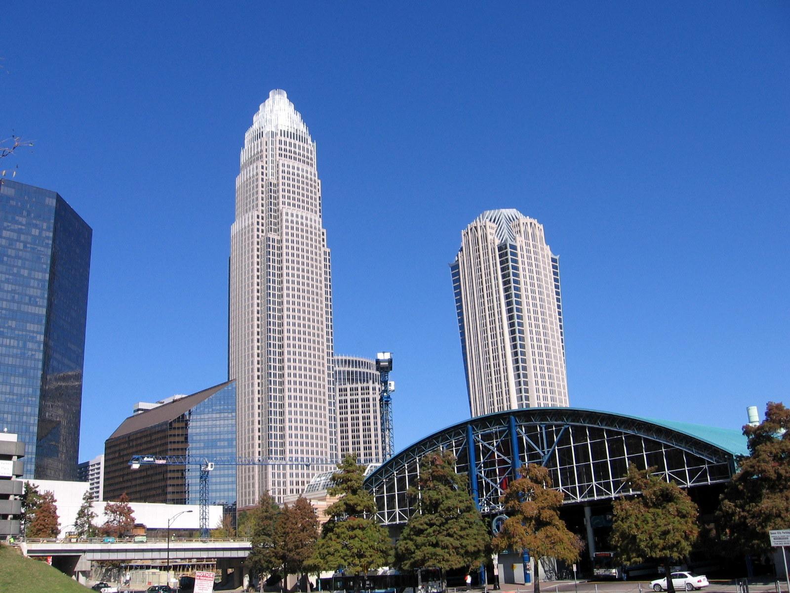 Bank Of America Center City Charlotte Nc