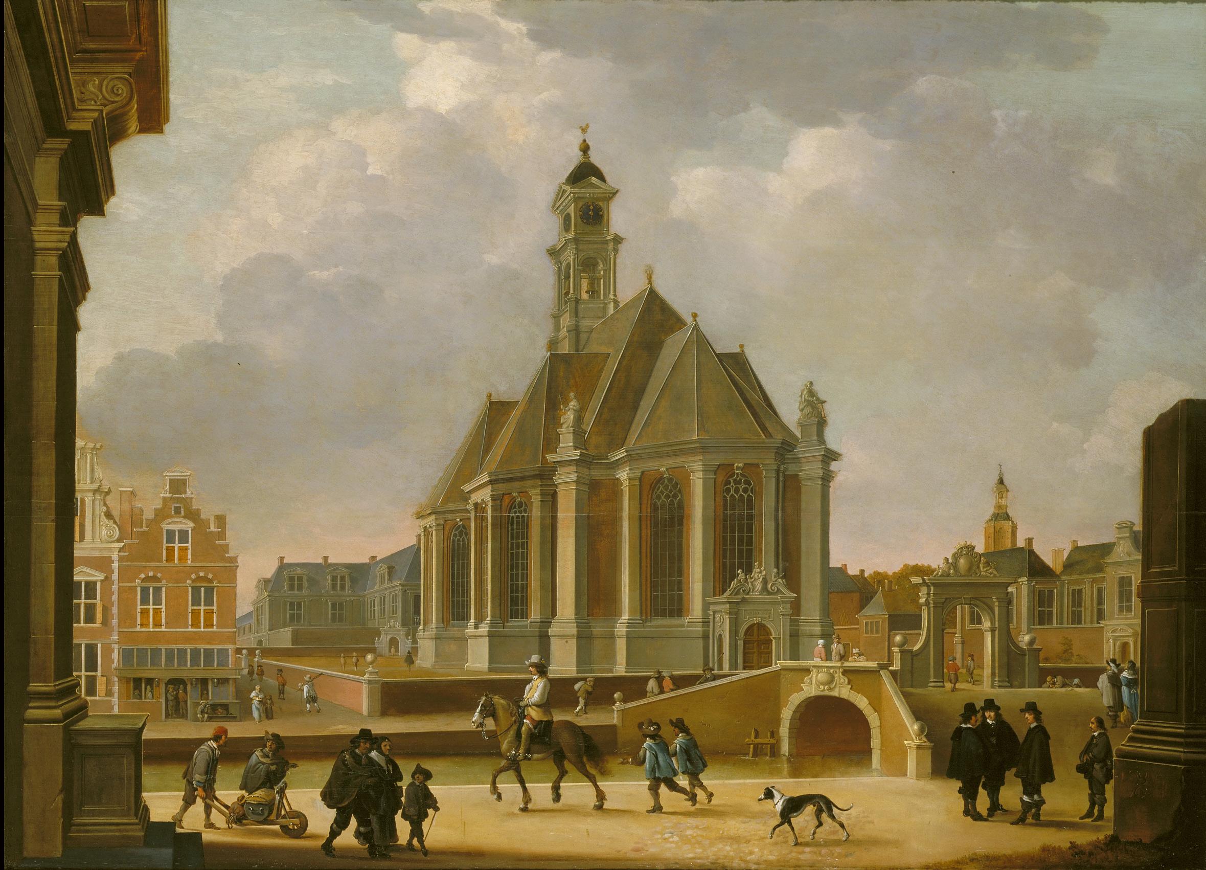 De Nieuwe Kerk in 1650
