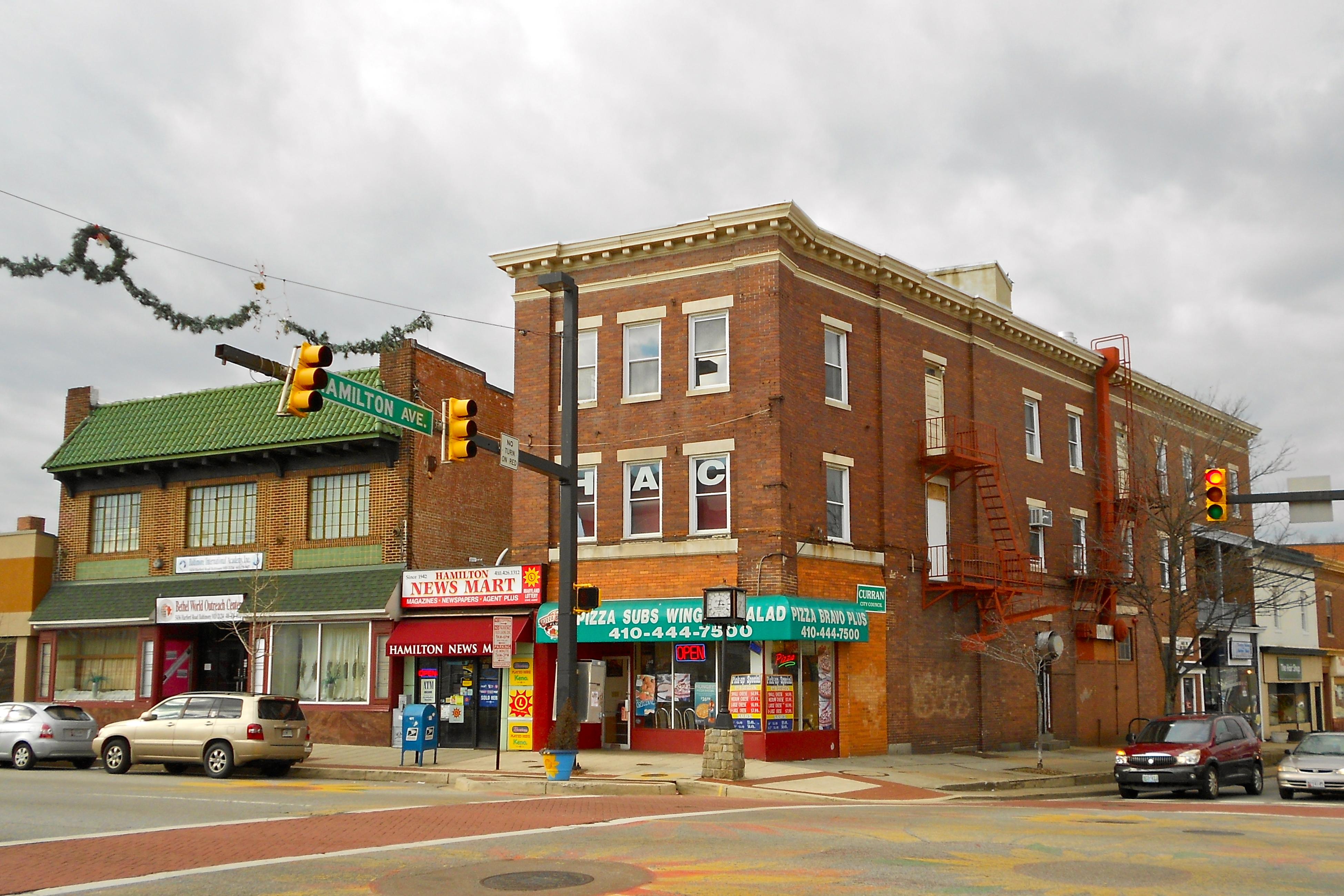 Hamilton, Baltimore - Wikipedia
