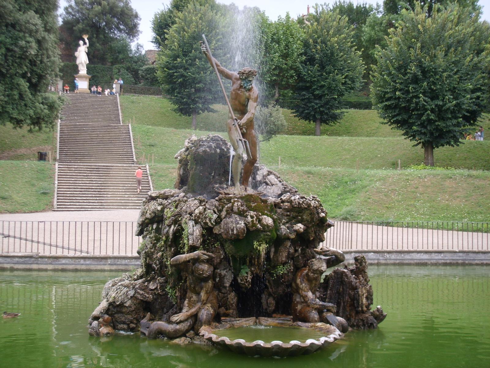 Fontana Giardino Pietra : File:boboli fontana del tritone stoldo lorenzi 03.jpg wikipedia