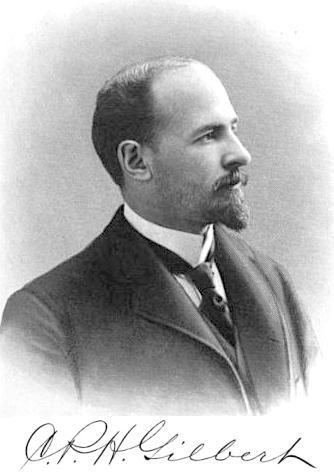 C P H Gilbert on Family House 1900