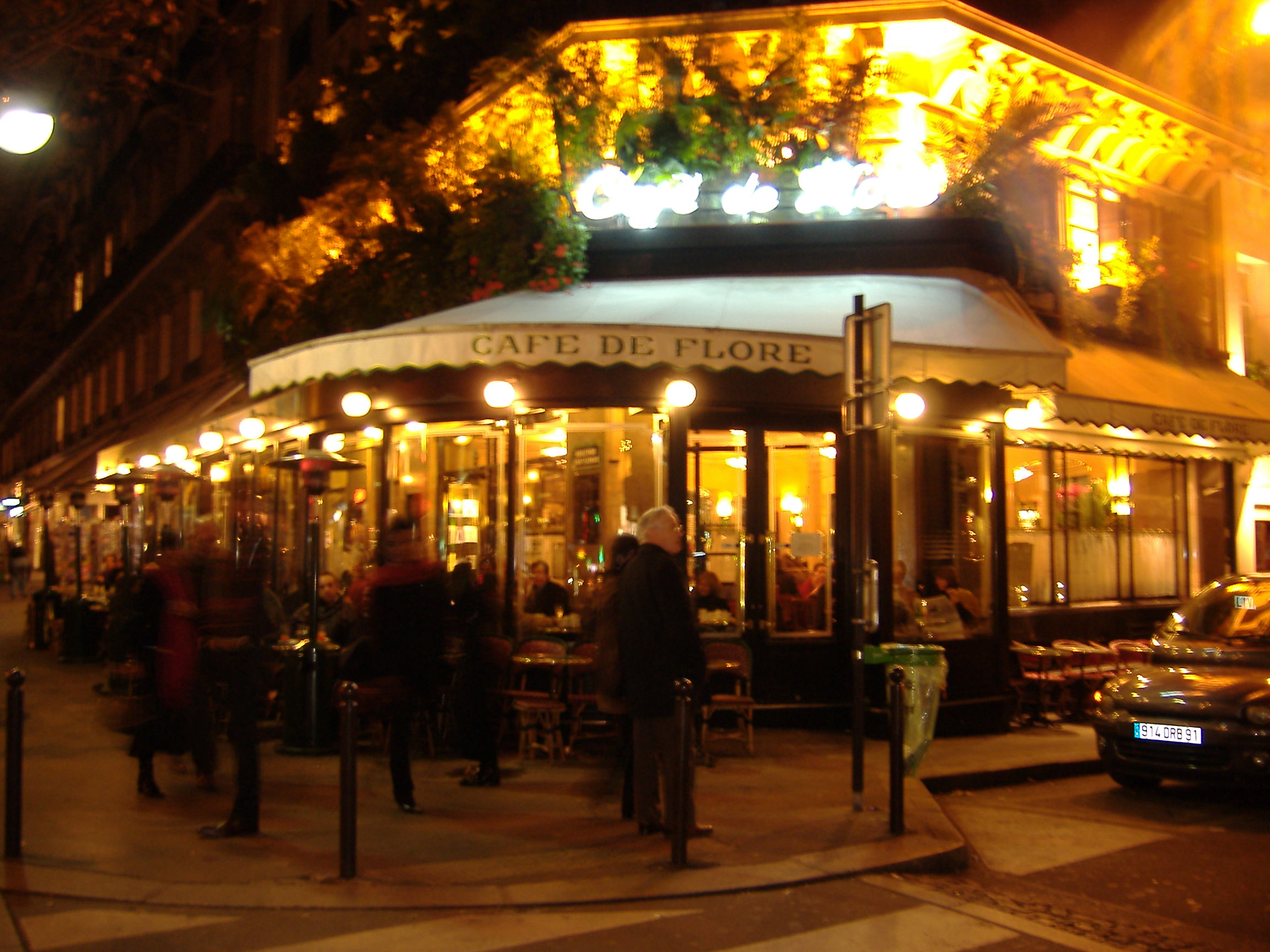 Cafe Le Flore Paris