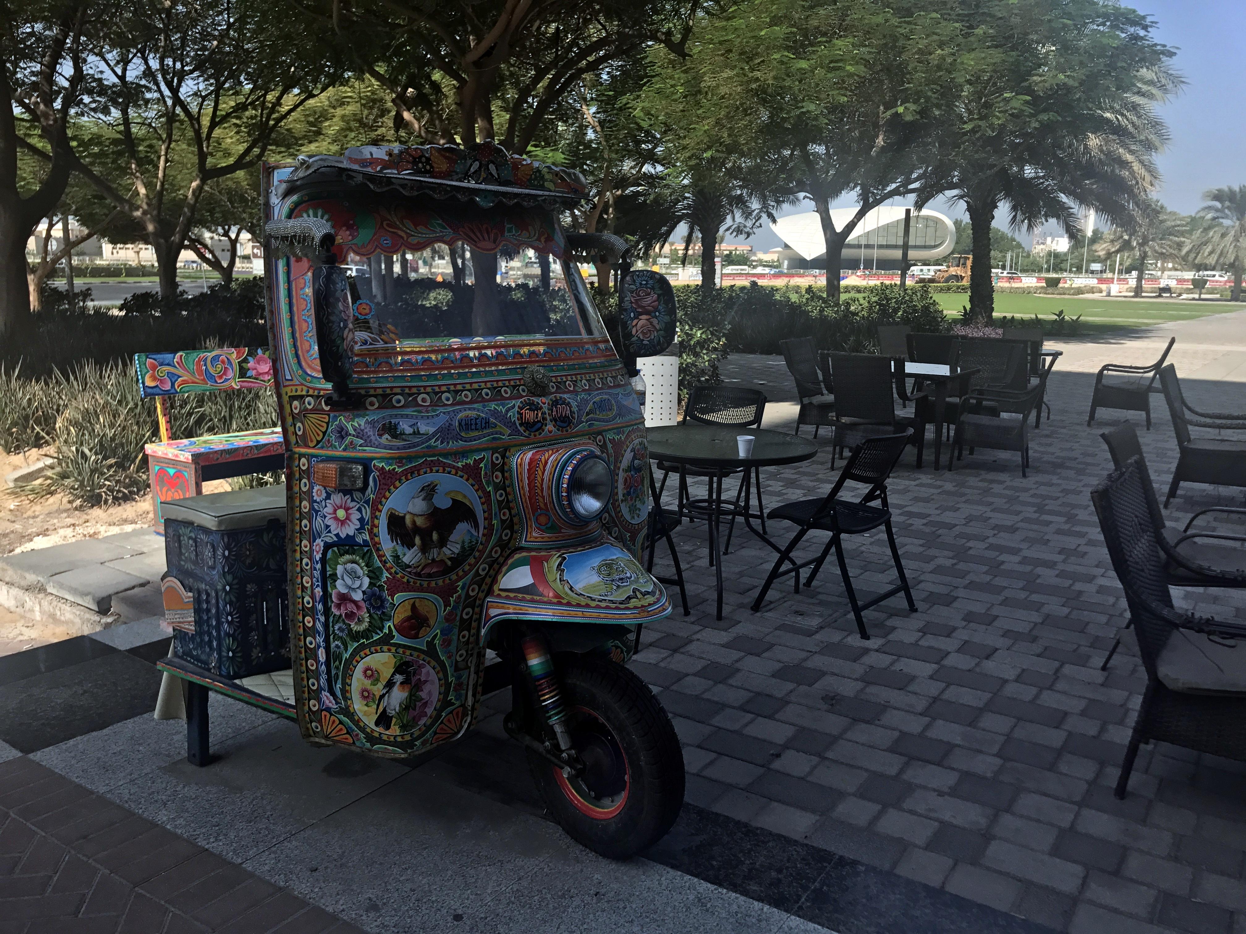 Cafe near Etihad Museum