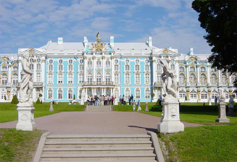 arredores de São Petersburgo- Catherine Palace