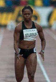 Chandra Sturrup athletics competitor