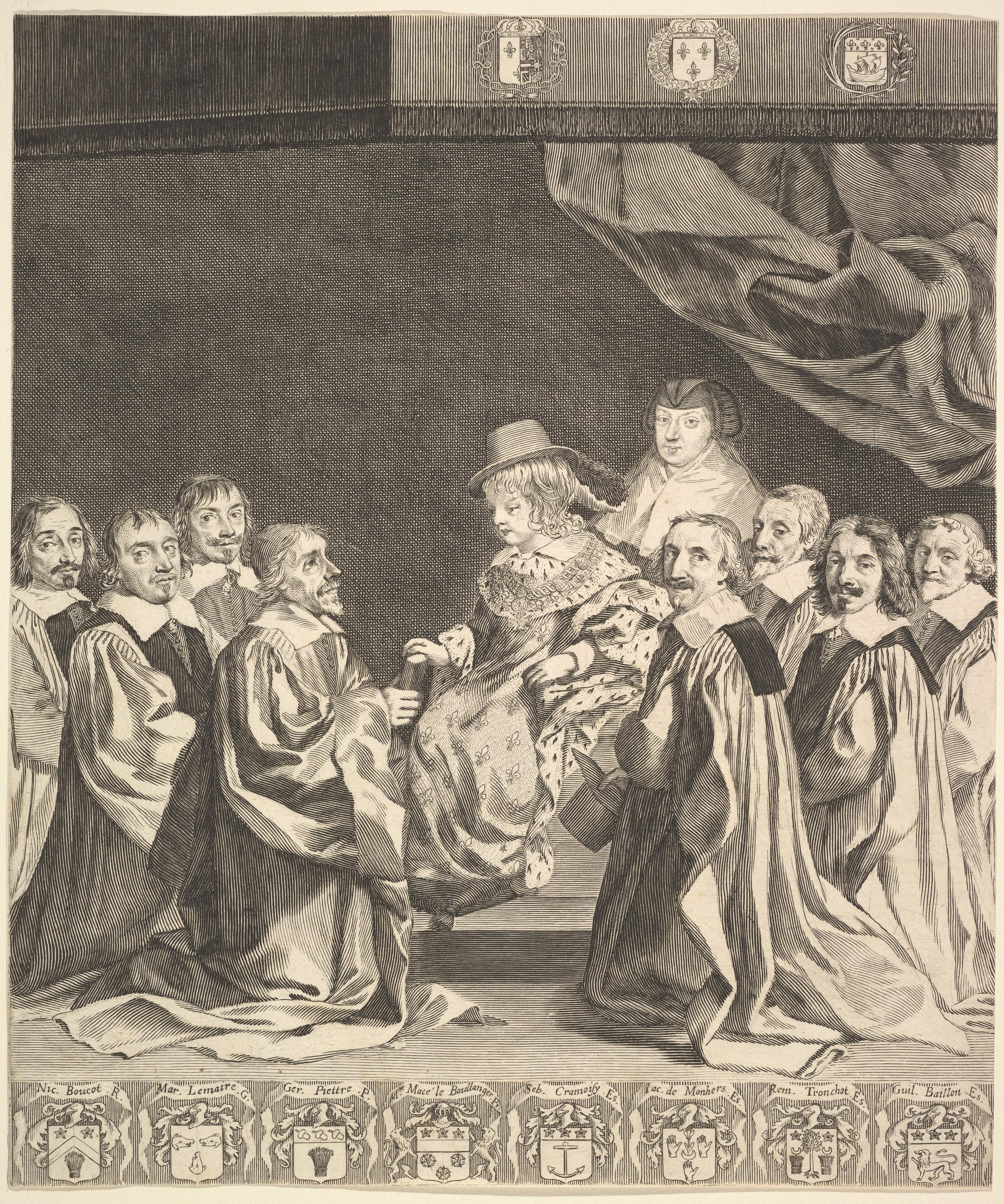 File:Claude Mellan, Frontispiece - Les Ordonnances royaux, ca. 1644.jpg