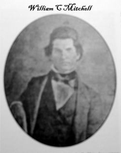Colonel William Christmas Mitchell was a State Senator from Carroll and later Marion Counties, who was largely responsible for organizing the 14th Arkansas