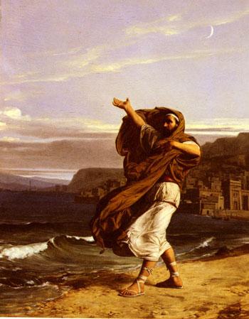 Démosthène s'exerçant à la parole (1870)