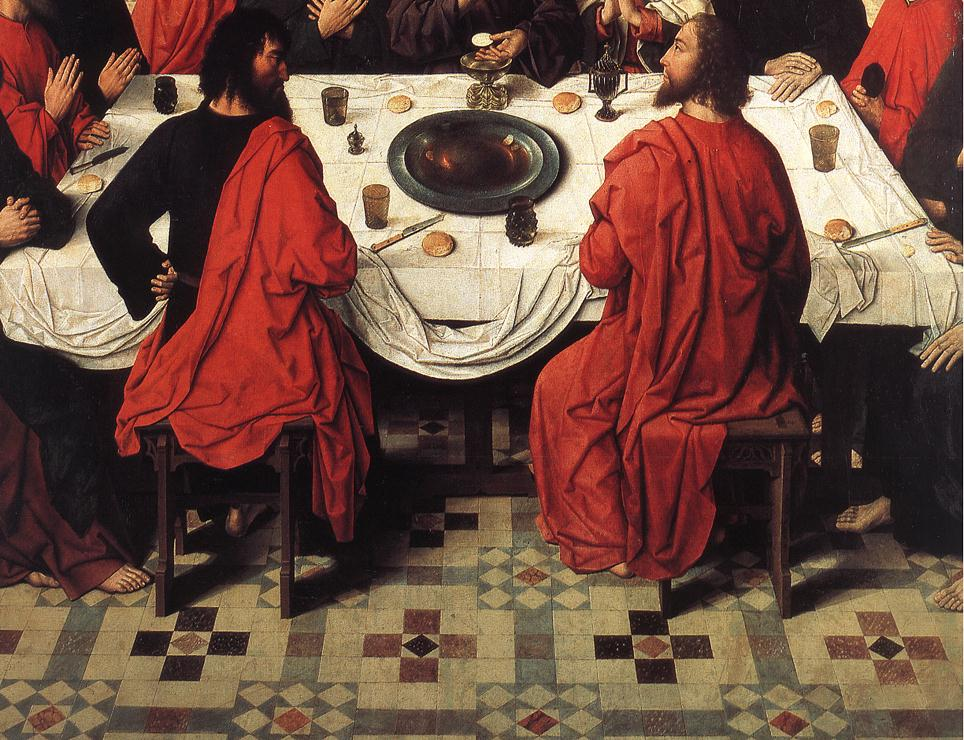 File:Dieric Bouts - The Last Supper (detail) - WGA03007 ...