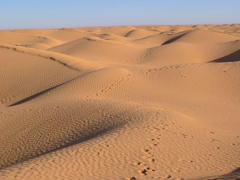 Sahara Dunes, Tunisia