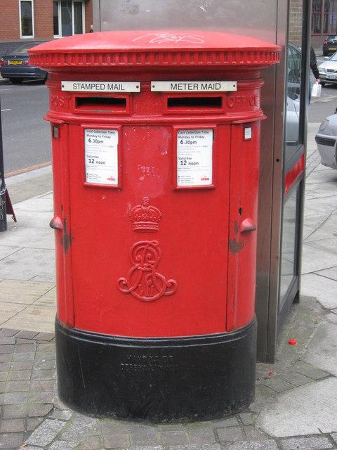 File:Edward VII postbox, Curtain Road - Scrutton Street, EC2 ...