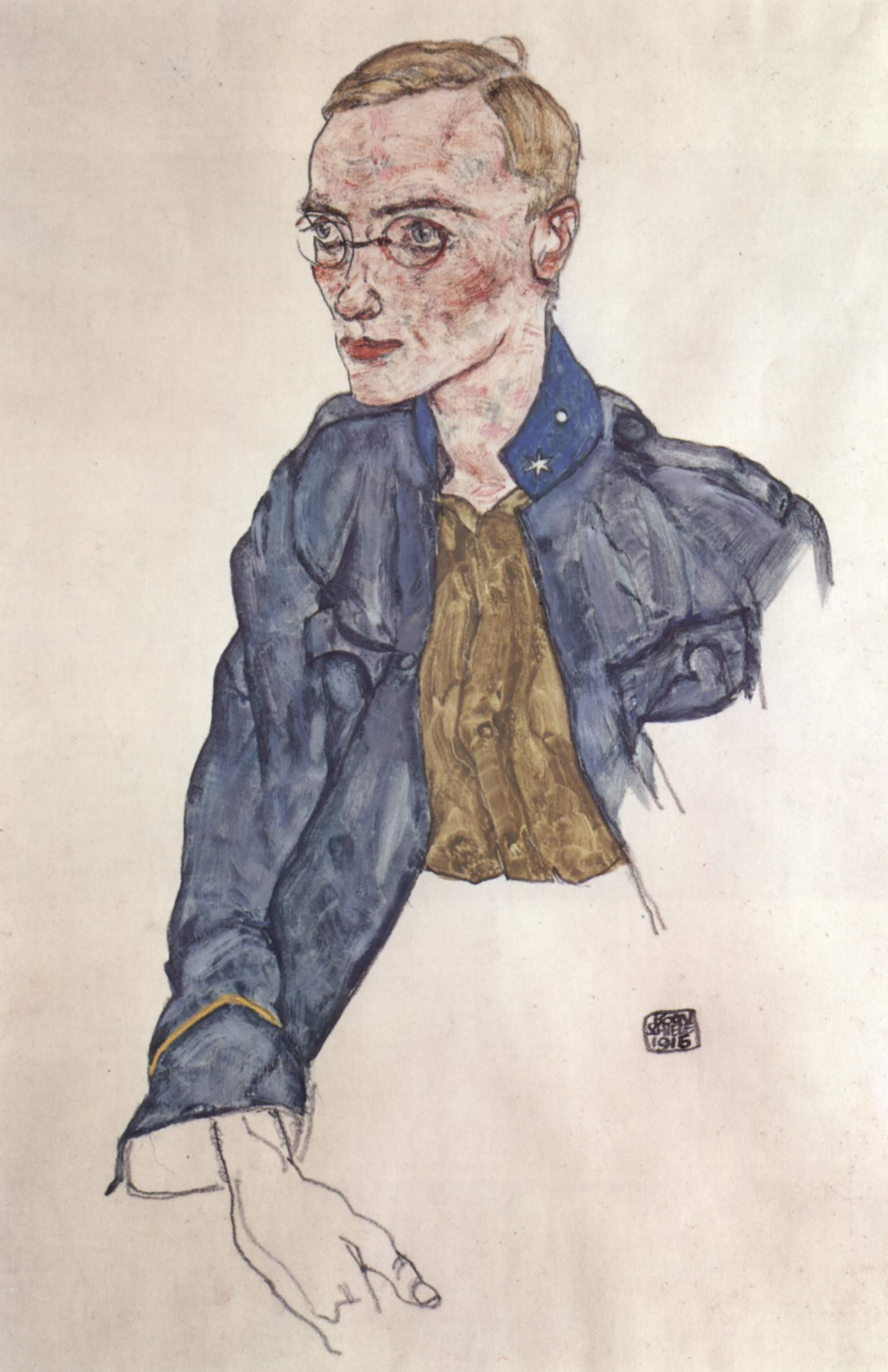 Egon Schiele - Artist Biography with Portfolio of Prints, Posters and Paintings