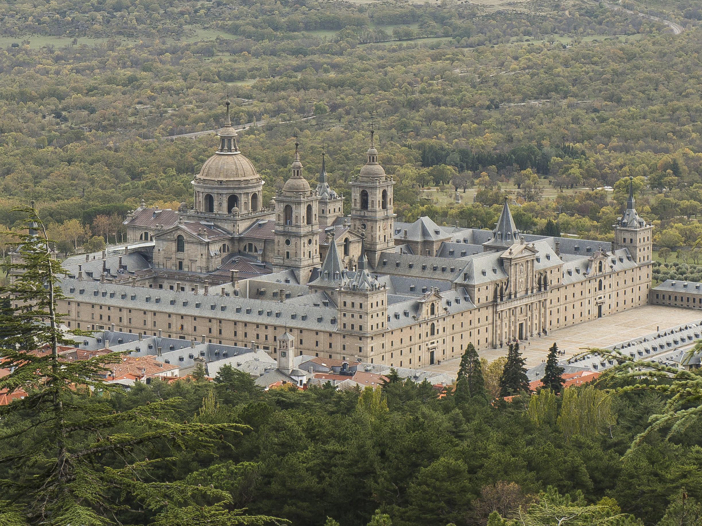 Monasterio De El Escorial Wikipedia La Enciclopedia Libre