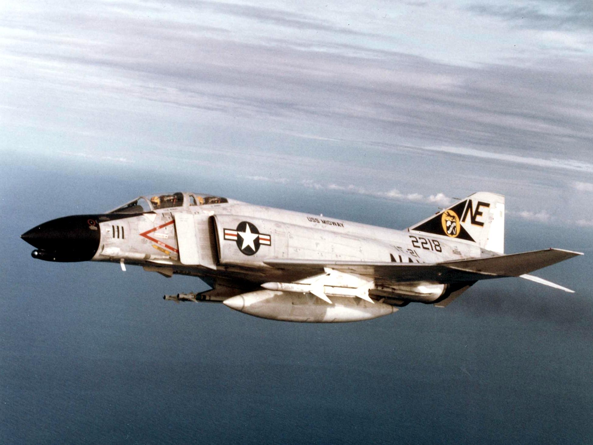 F-4B_Phantom_of_VF-21_over_Vietnam_1965.