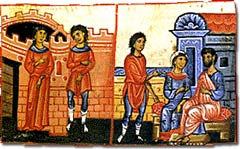 Scenes of marriage and family life in Constantinople.