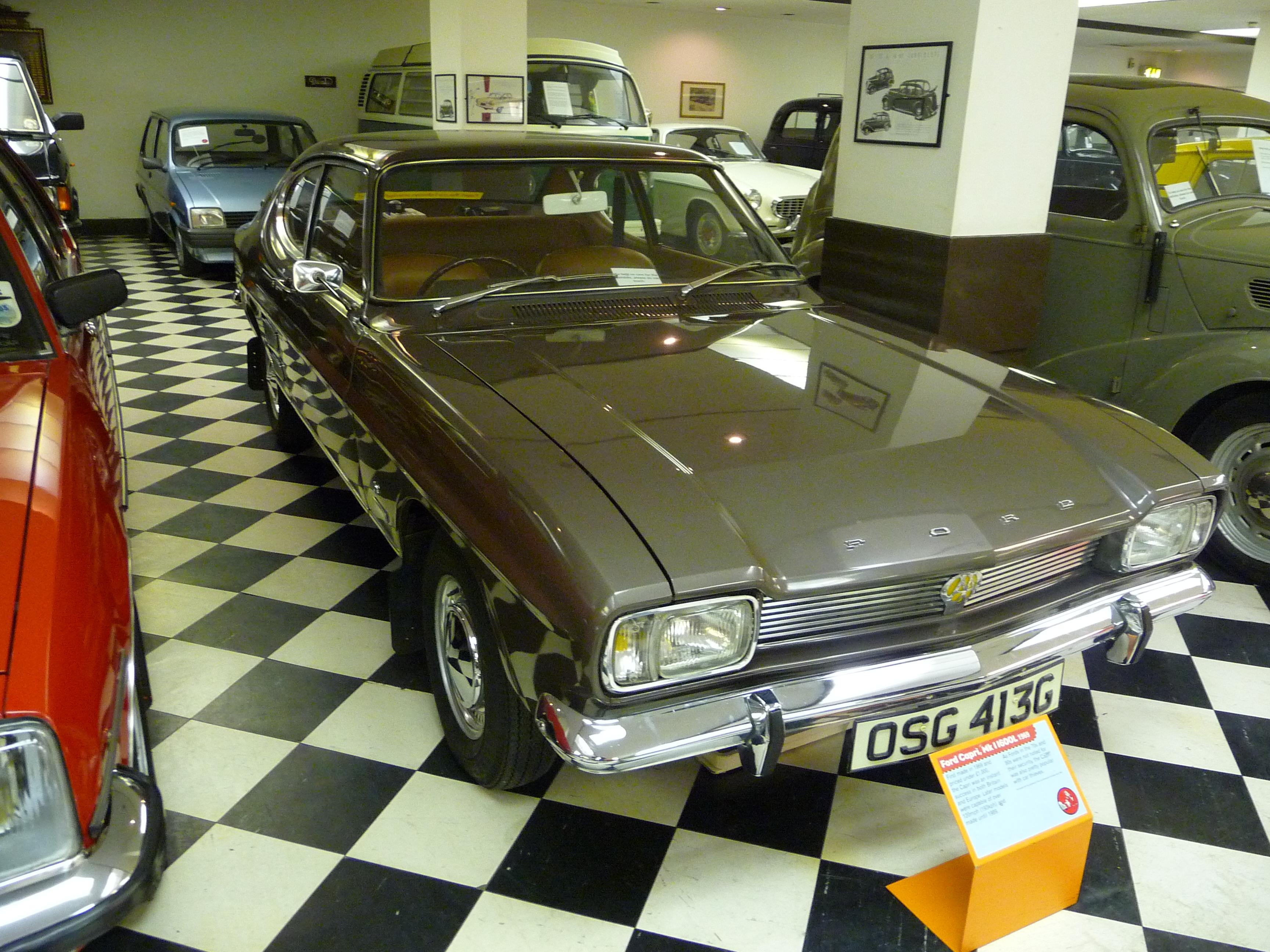 File Ford Capri Glasgow Transport Museum Jpg Wikimedia