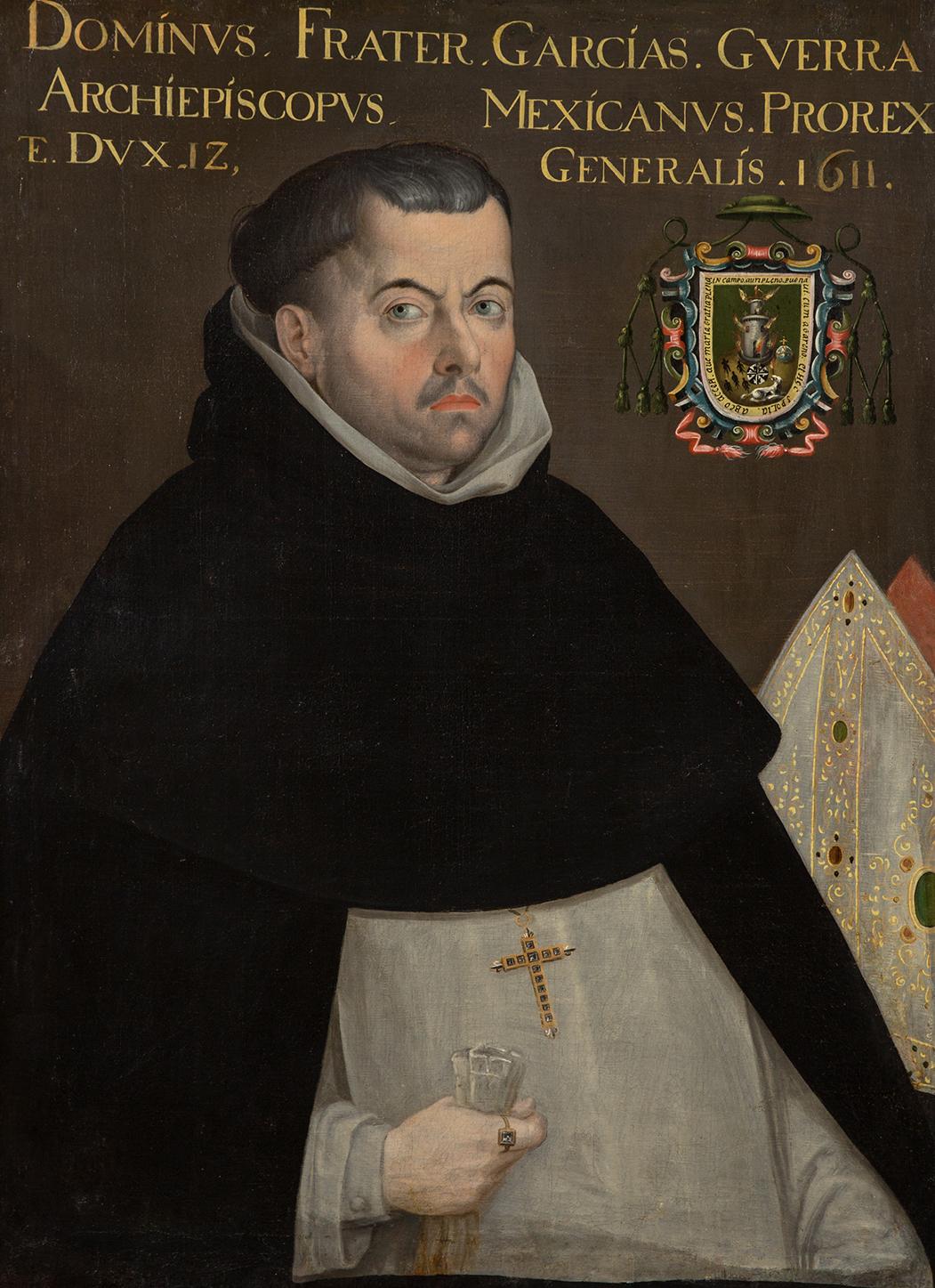 Retrato de García Guerra.