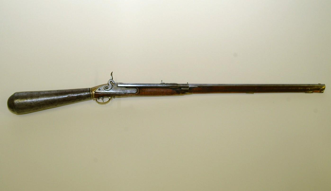 Fusil à vent Girandoni et dérivé moderne... Girandoni_Air_Rifle