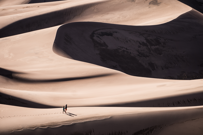 Colorado Great Sand Dunes Sand Dunes Sand Sample