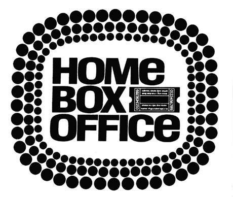Original HBO logo, used from 1972 to 1975.
