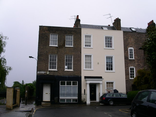 File hammersmith terrace from black lion lane geograph for 7 hammersmith terrace
