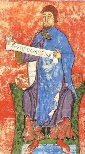 Enrique de Borgoña, conde de Portugal