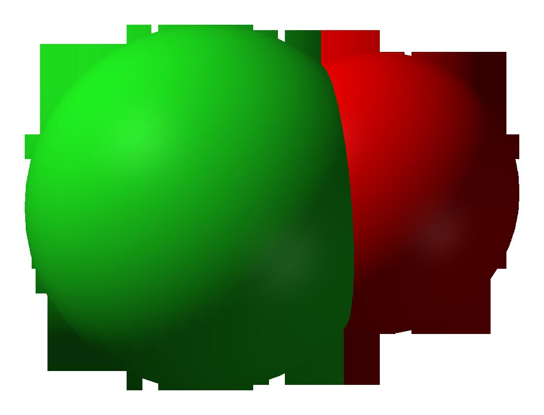 Hypochlorite Ion The hypochlorite ion 3D