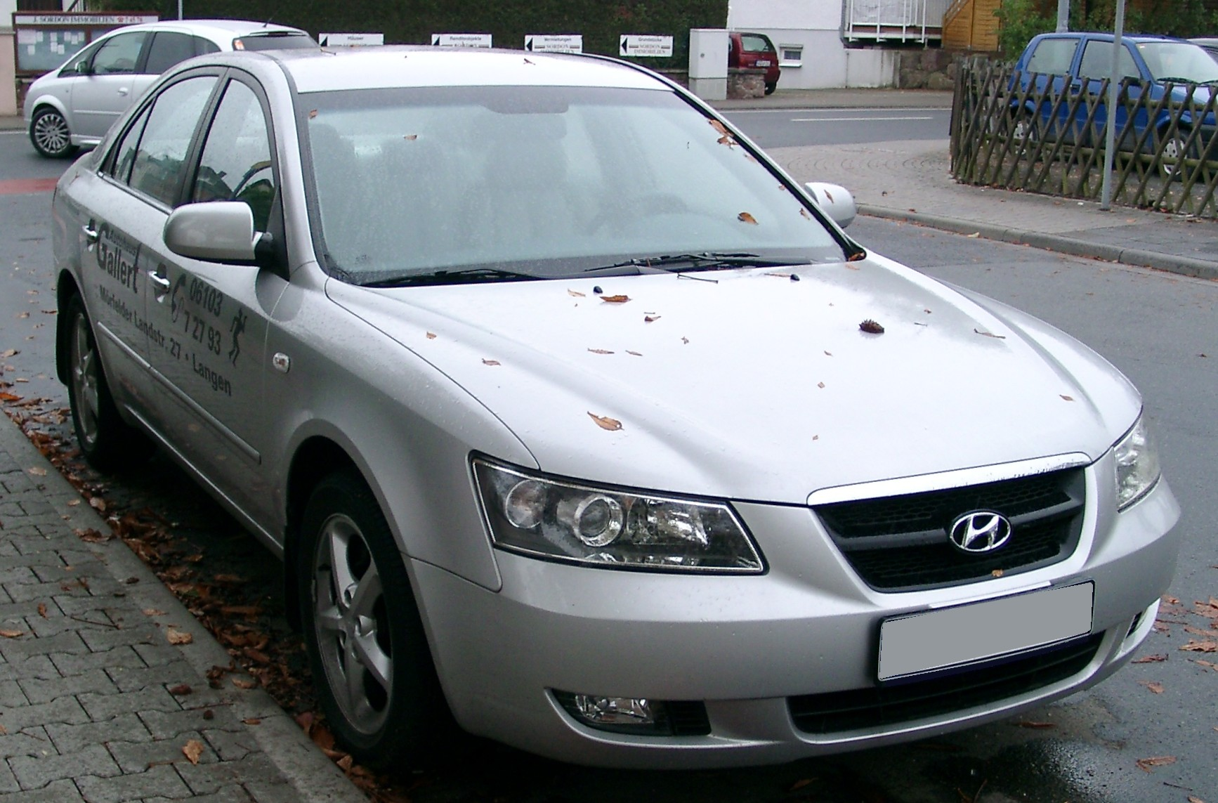 File:Hyundai Sonata front 20070928.jpg - Wikimedia Commons