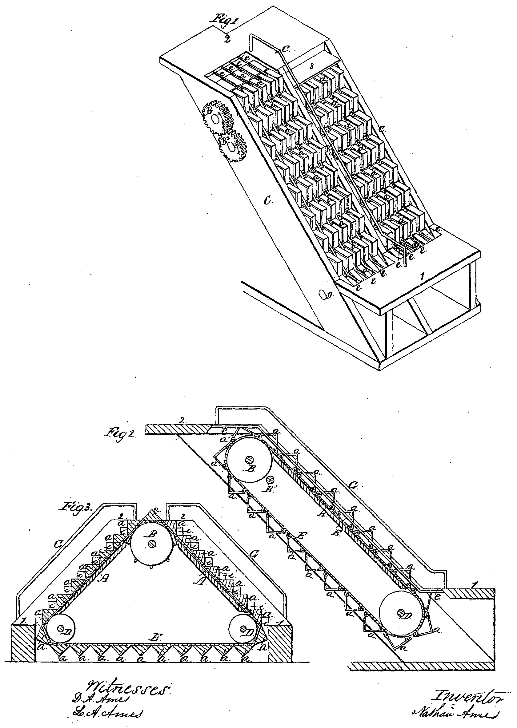 File:Illustration of revolving stairs (U.S. Patent 25,076 ...