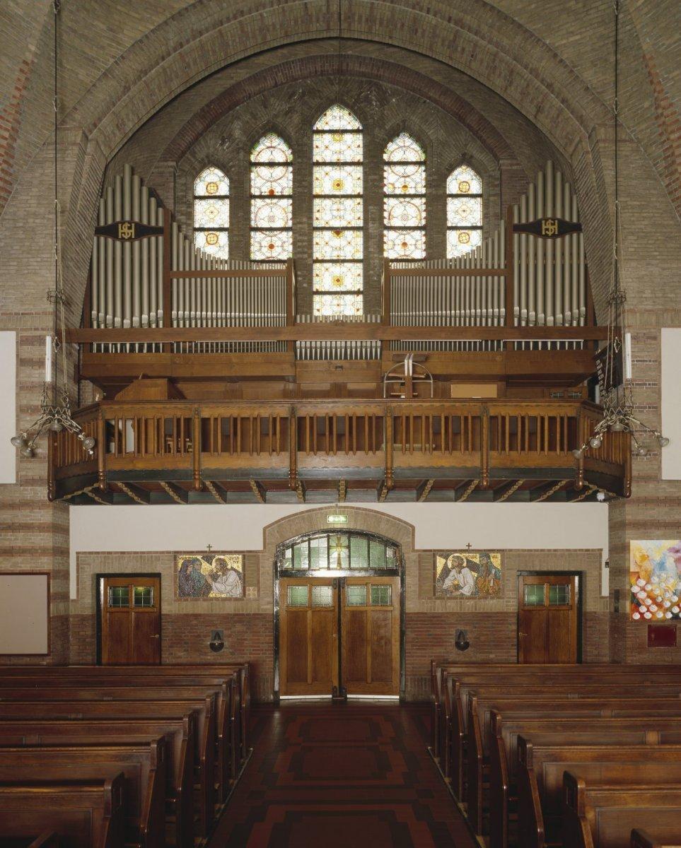 Bestand:Interieur, aanzicht orgel - Rijssen - 20414213 - RCE.jpg ...