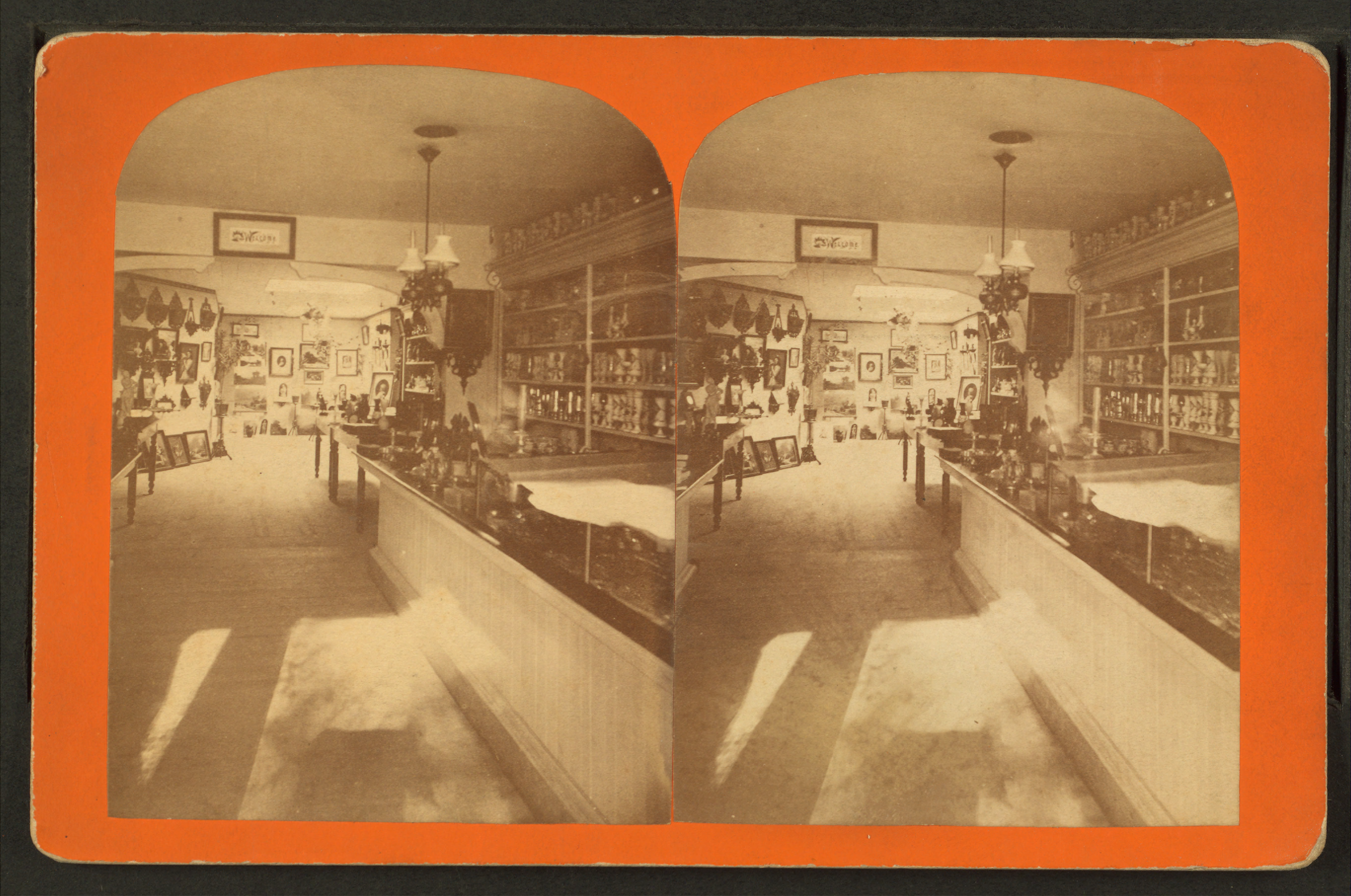 File Interior Of Marshall Field S Store Showing Decorative Items For