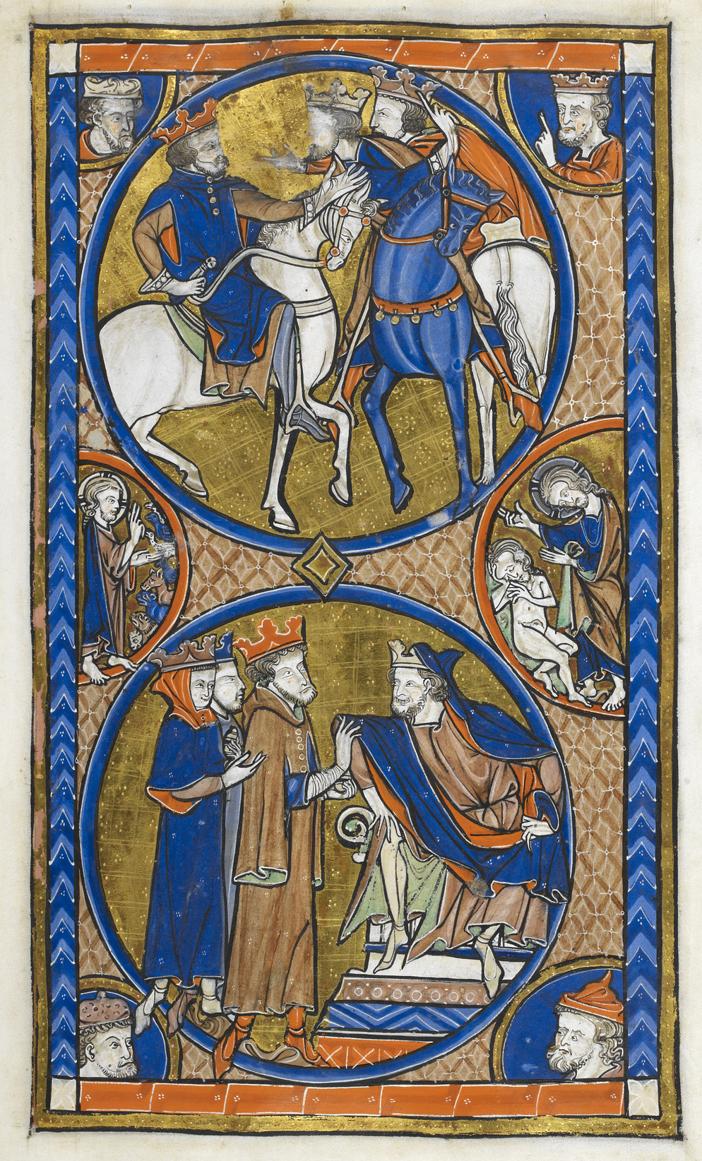 journey of the magi This scene, by a fifteenth-century painter—stefano di giovanni—shows the  three magi journeying to bethlehem to worship christ.