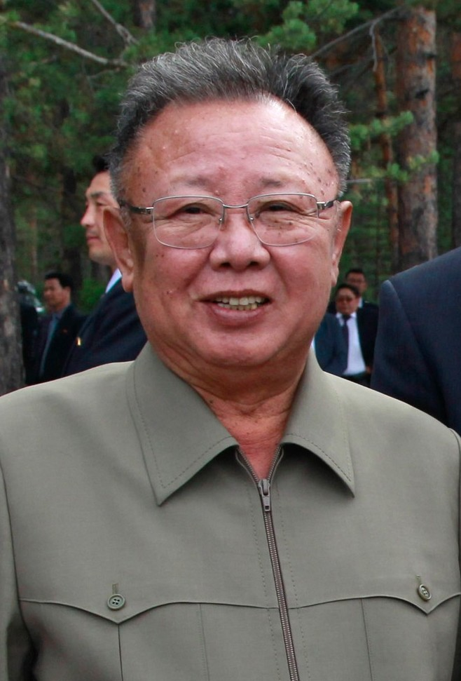 Kim Jong-il on August 24, 2011 Image: Kremlin.ru.