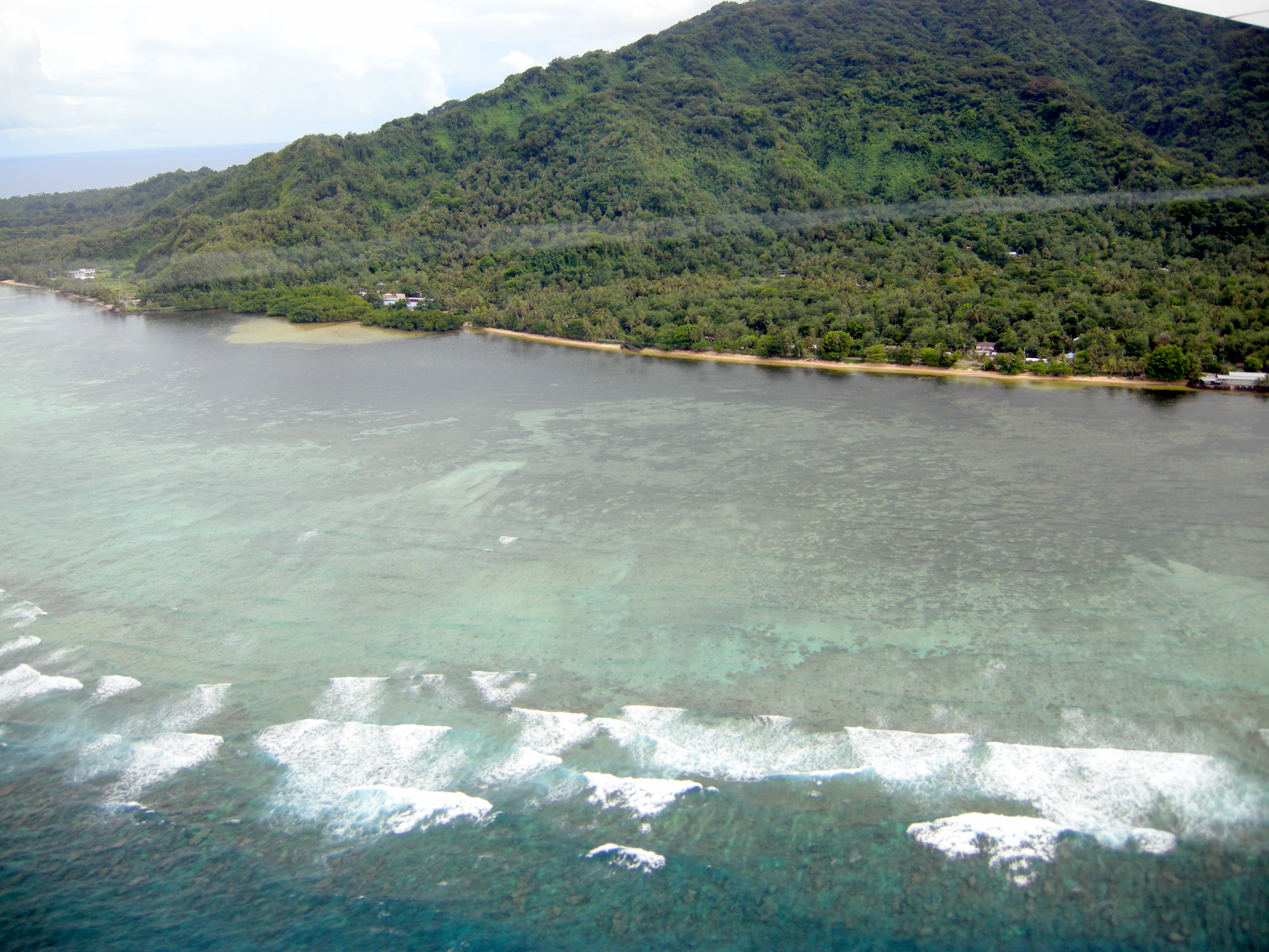 Kosrae Island Map