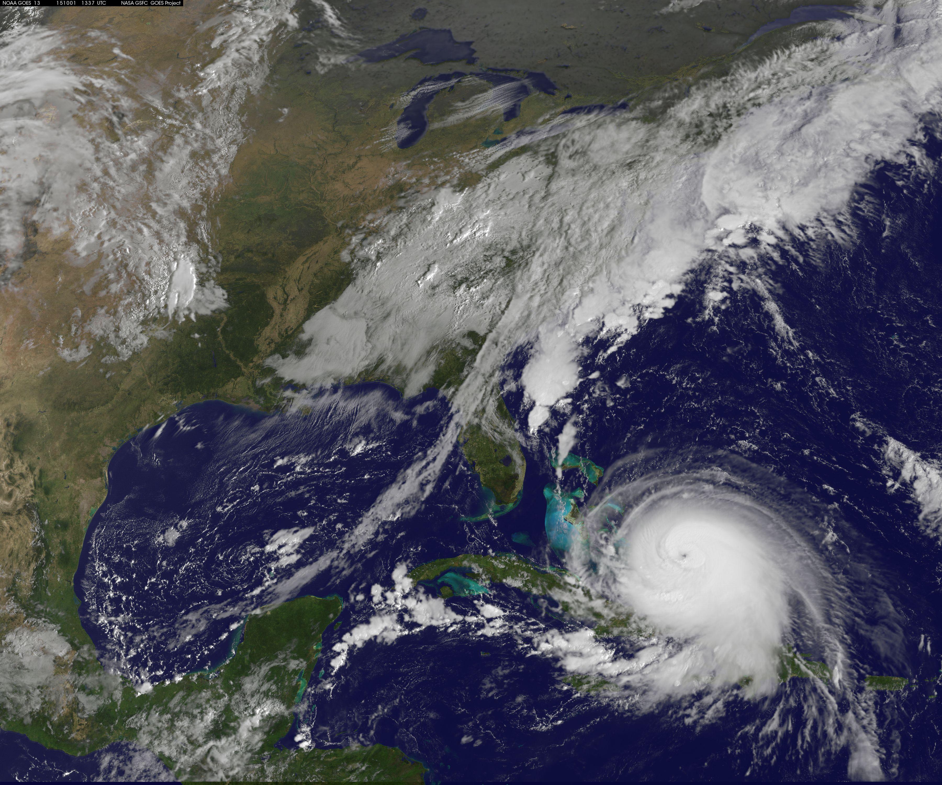 FileLatest View Of Hurricane Joaquin Jpg - Latest satellite view
