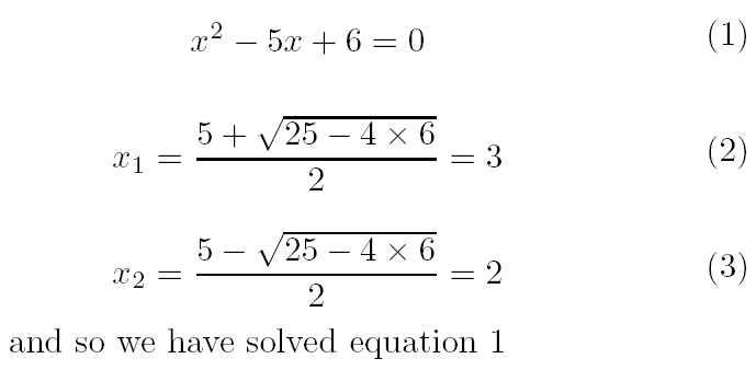 Examples of Math Equations File:latex Example Math