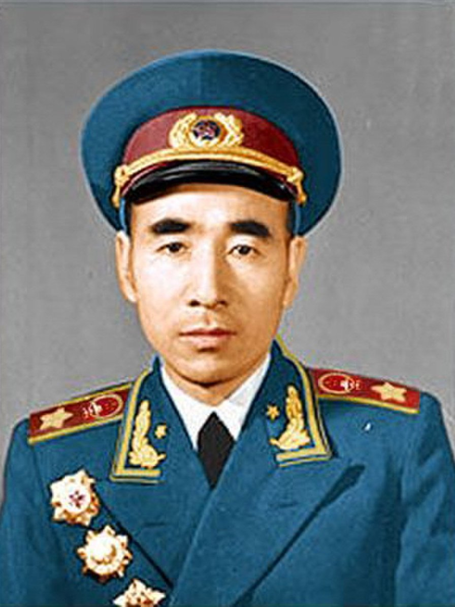 Marshal Lin Biao was constitutionally confirmed as Mao's successor in 1969. Lin Biao.jpg