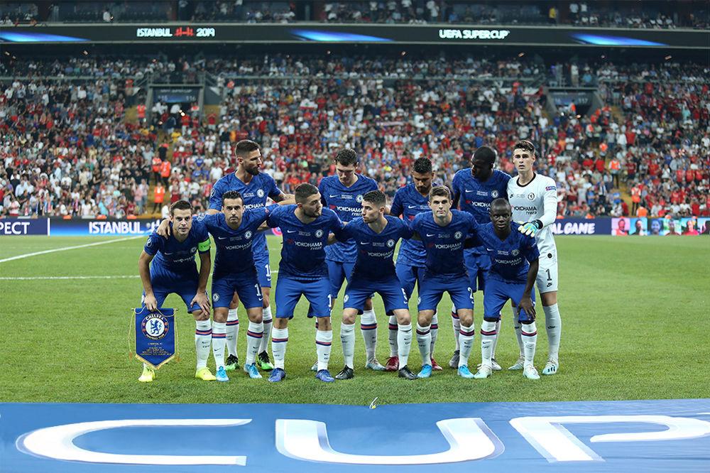 Футбольная команда челси игроки