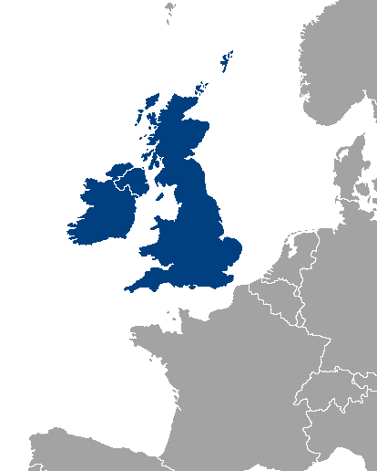 The British Isles consist of Great Britain, Ireland and a number of much smaller surrounding islands.